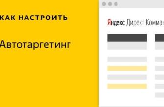 Автотаргетинг от Яндекс Директ что это